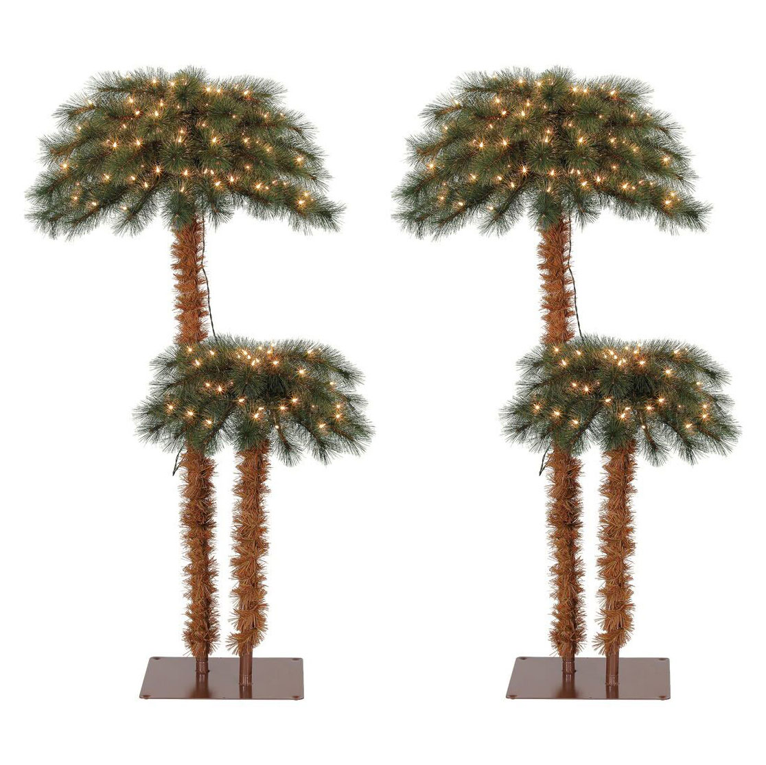 Palm Tree Island: Island Breeze Artificial Tropical Christmas Palm Tree With