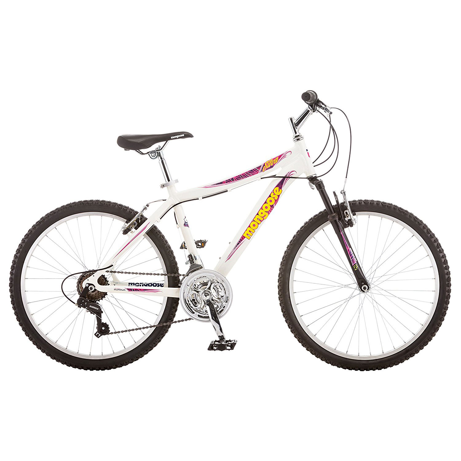 Mongoose Boys 13 Inch Aluminum Mech Mountain Bicycle with 24 Inch ...