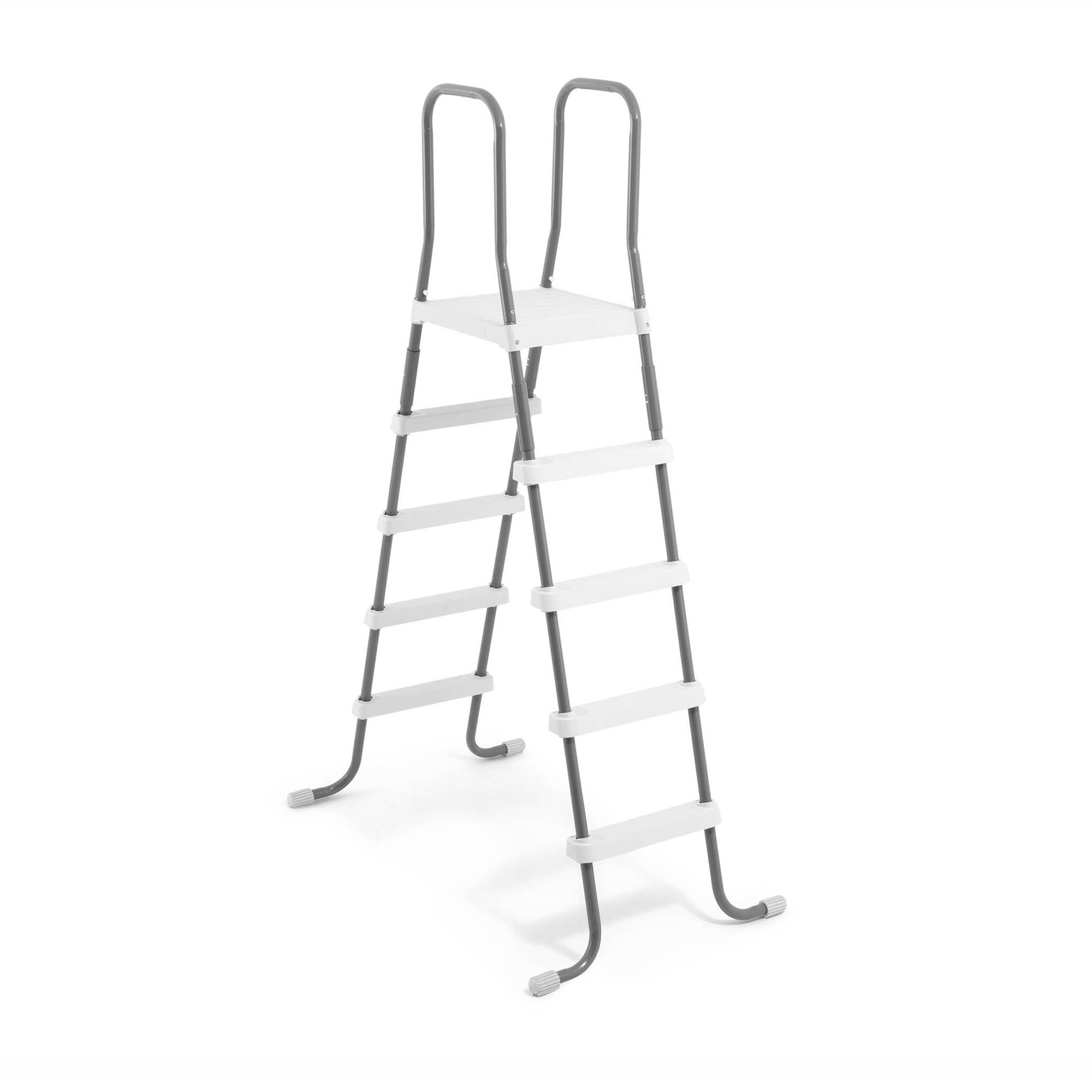Intex Steel Frame Above Ground Swimming Pool Ladder for 52\