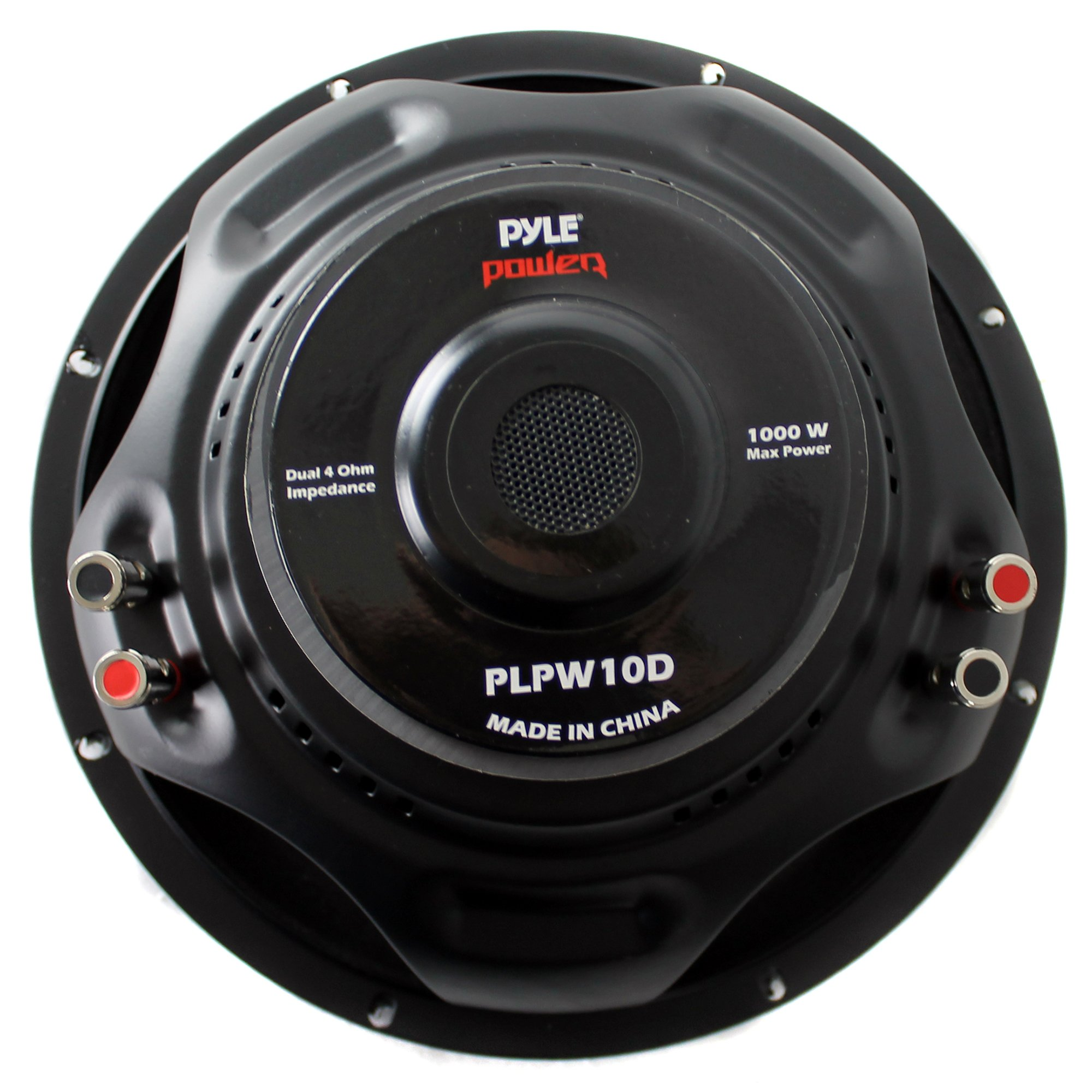 Pyle 10 Inch 1000 Watts Car Audio Steel Basket Power DVC