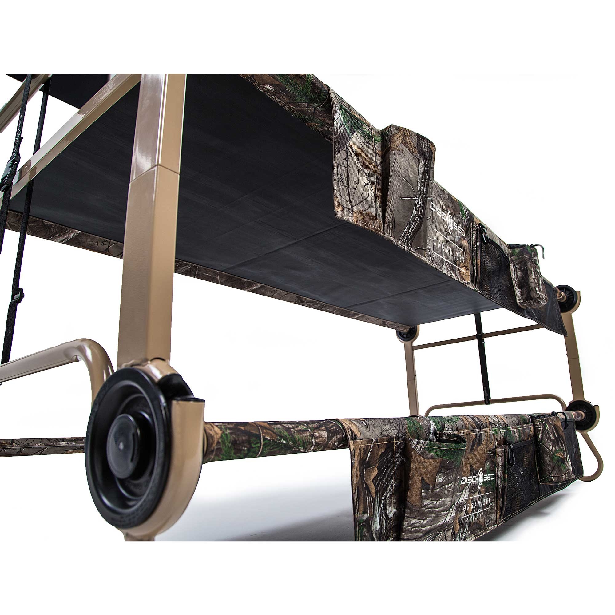Disc O Bed XLarge Cam Bunk Bunked Realtree Double Cot Mosquito Net And Frame