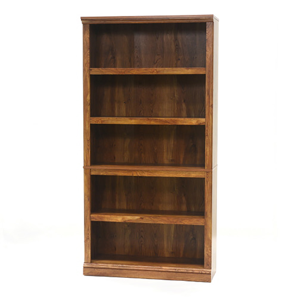Sauder Furniture Select Collection 5 Shelf Bookcase Chestnut  # Muebles Pestana