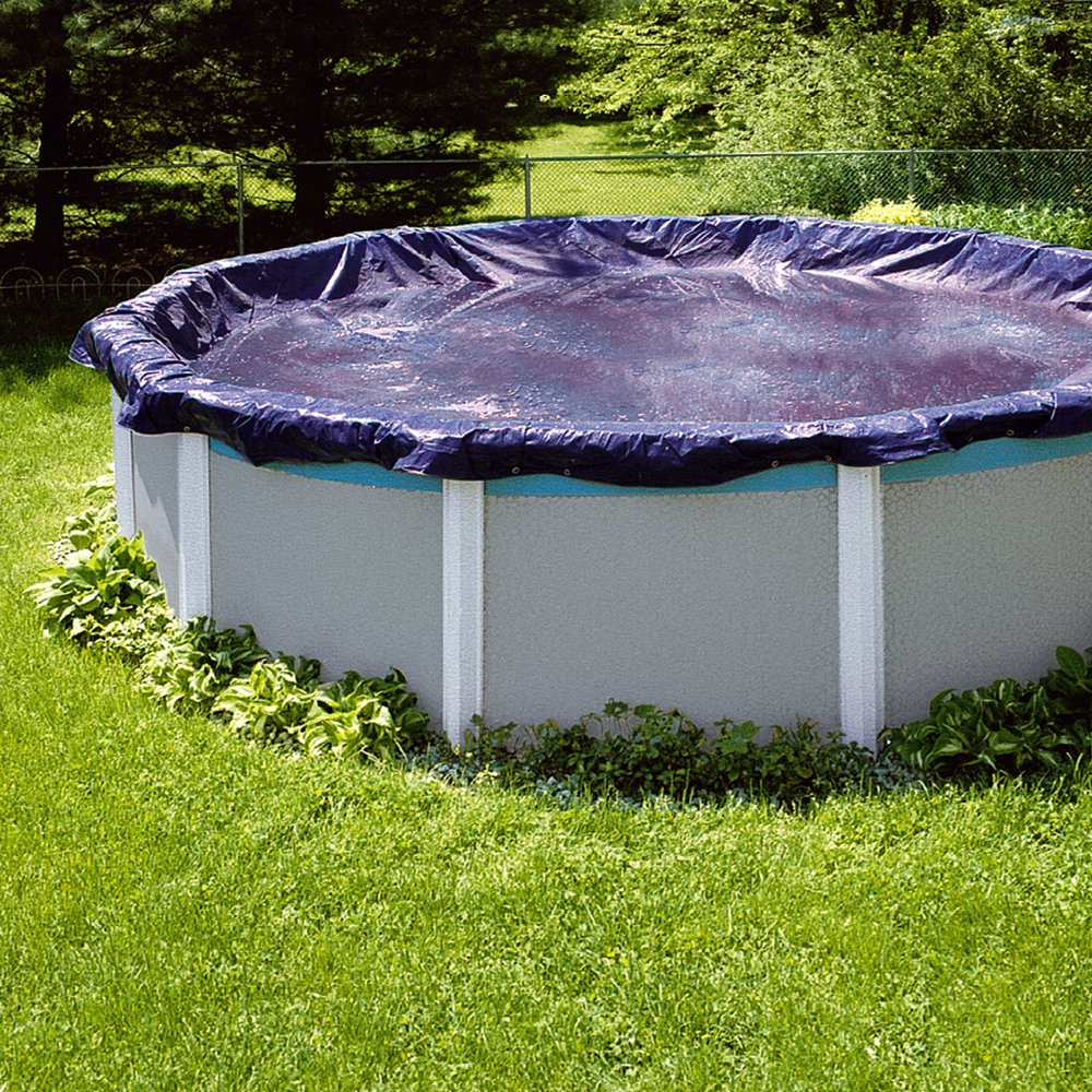 Swimline 30 Foot Heavy Duty Deluxe Round Above Ground Winter Swimming Pool Cover Ebay