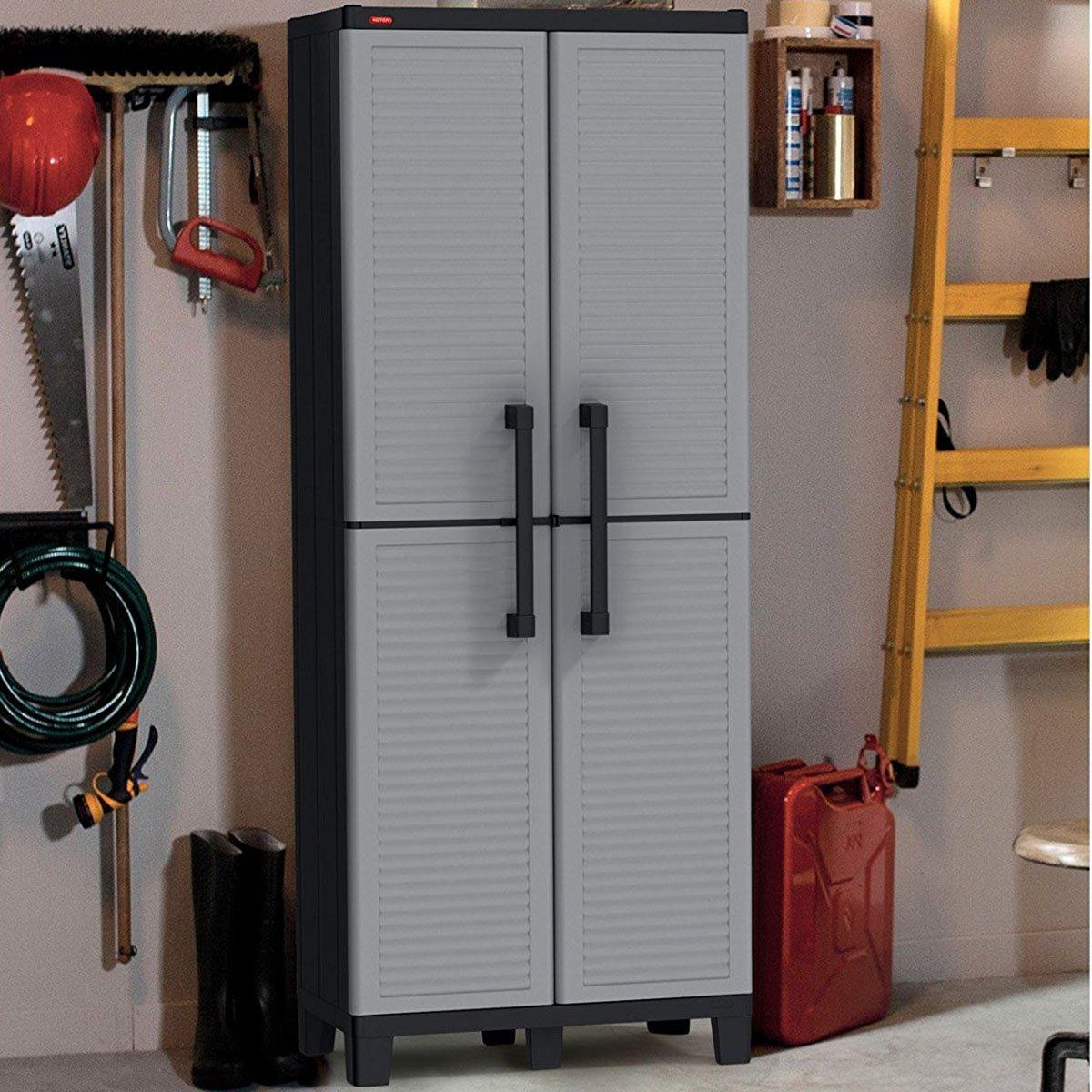Keter Space Winner Adjustable Garage Storage Gray Resin ...