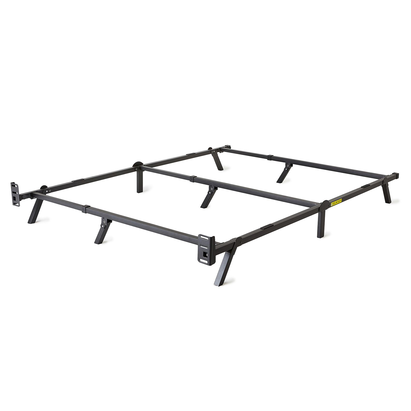 intellibase low profile adjustable twinfullqueen box spring metal bed frame - Adjustable Twin Bed Frame
