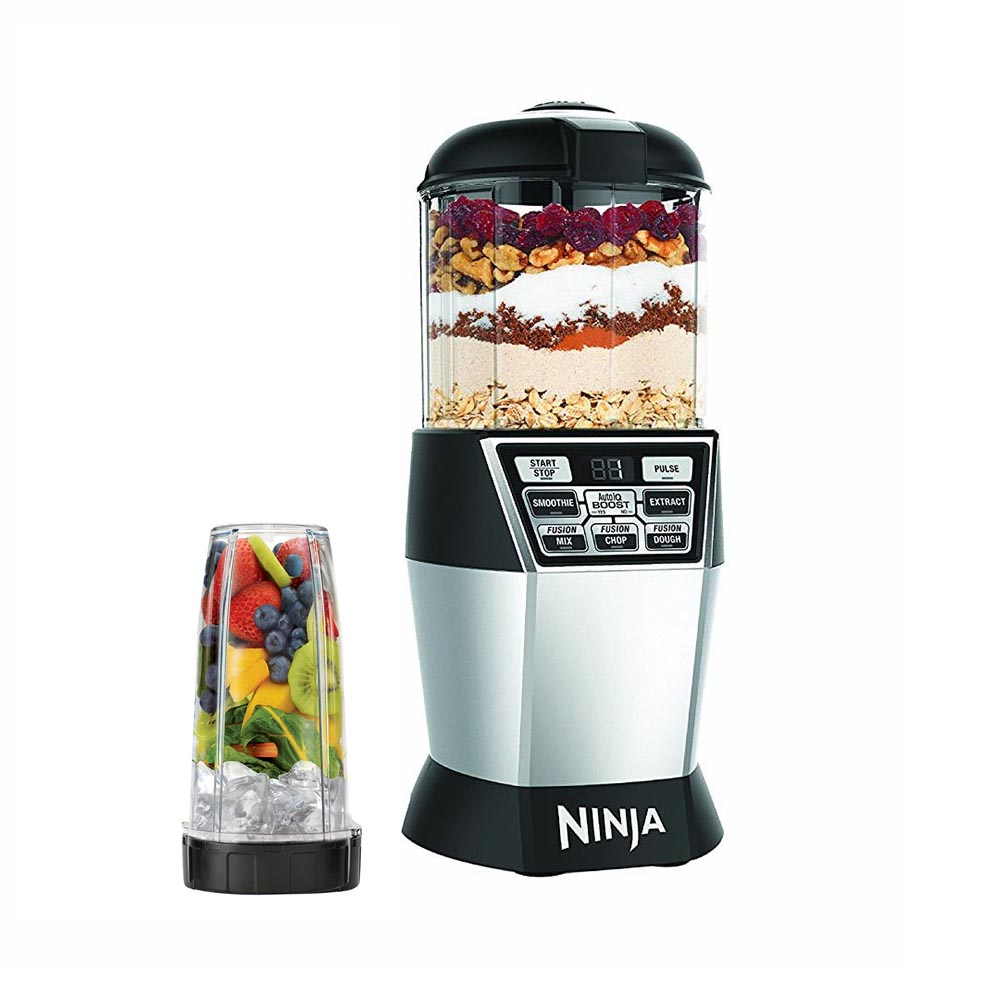 Ninja Nutri Bowl DUO with Auto-iQ Boost Kitchen Blender (Certified ...
