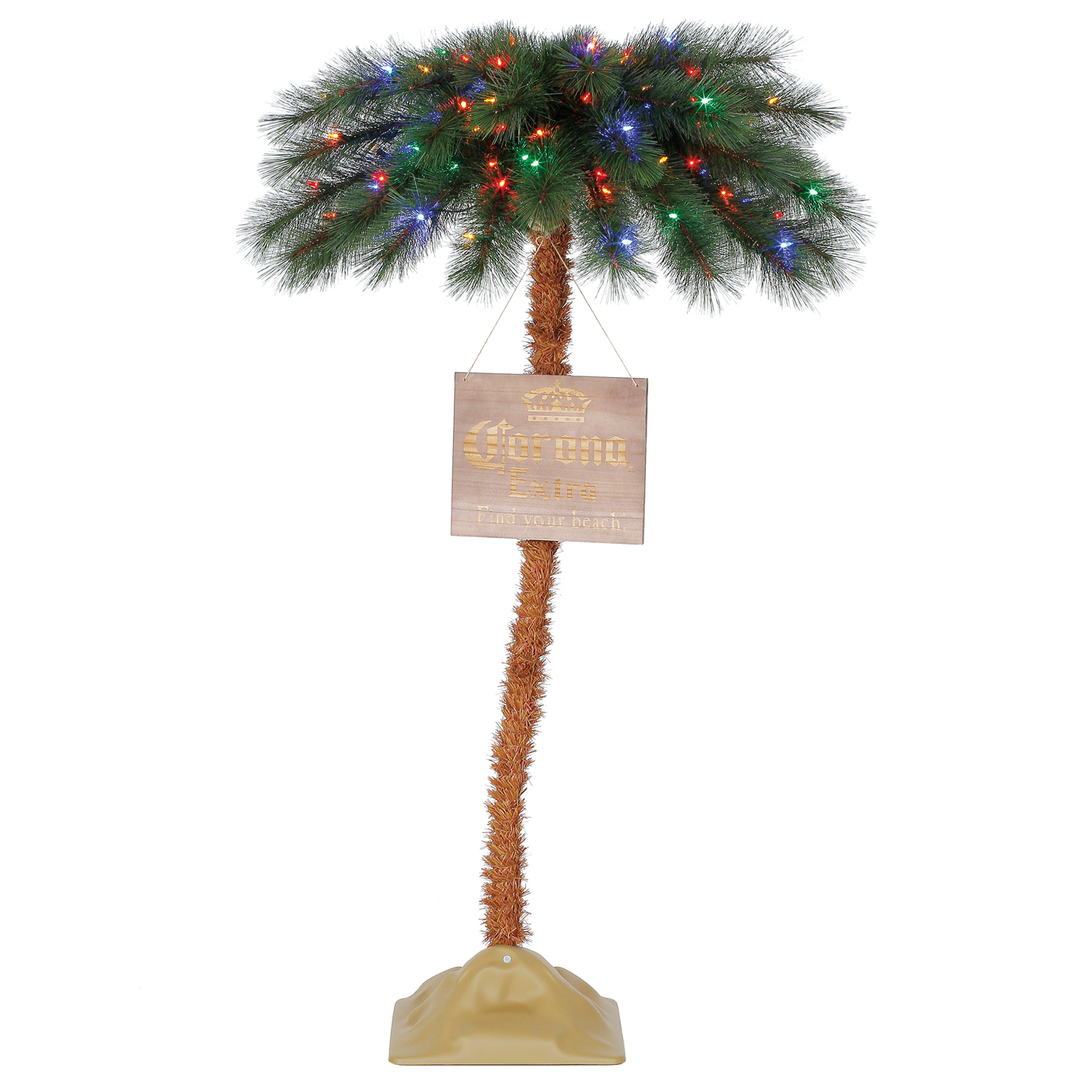 Corona 5 39 Commercial Palm Tree Led Pre Lit Artificial