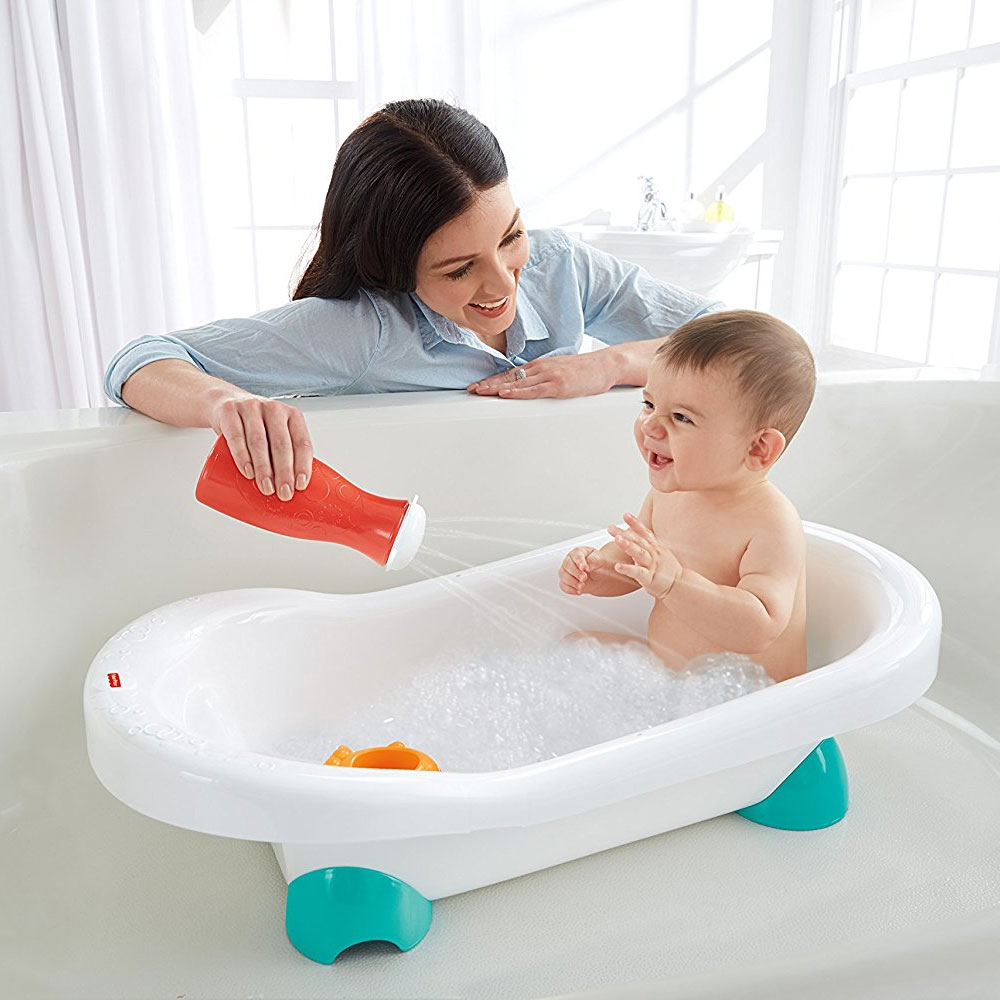 Fisher Price Grow with Me Infant Toddler Baby Go Wild Bath Bathroom ...