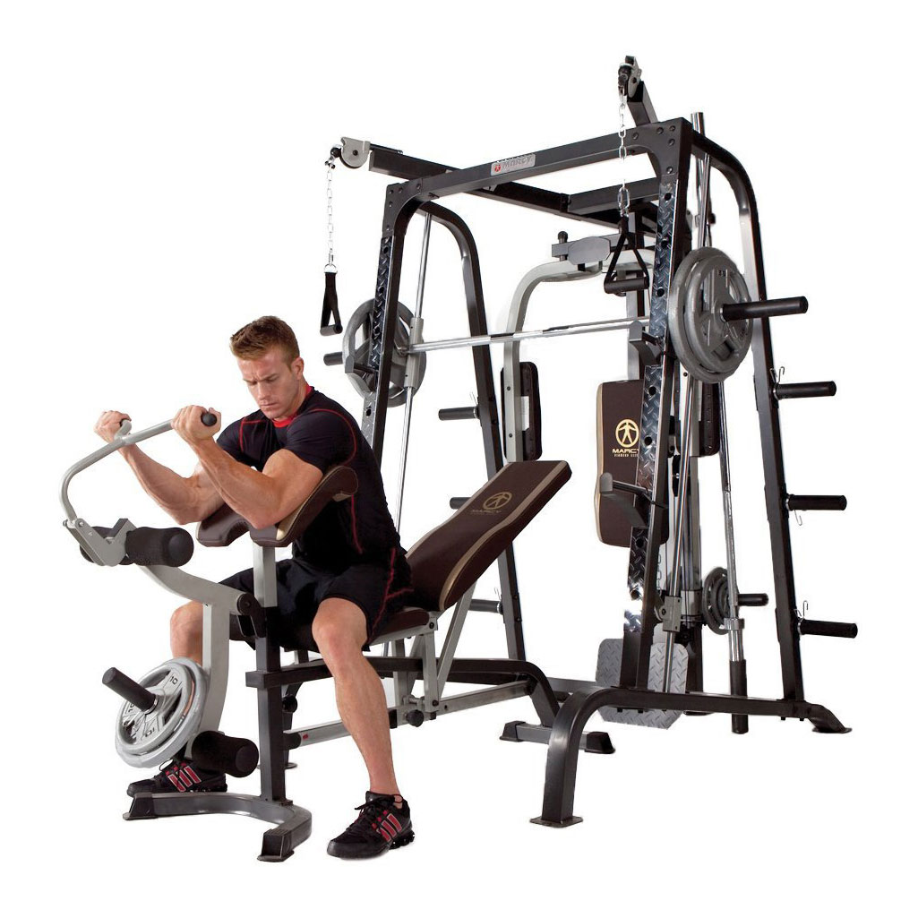 Marcy Deluxe Diamond Elite Smith Cage Home Workout Machine