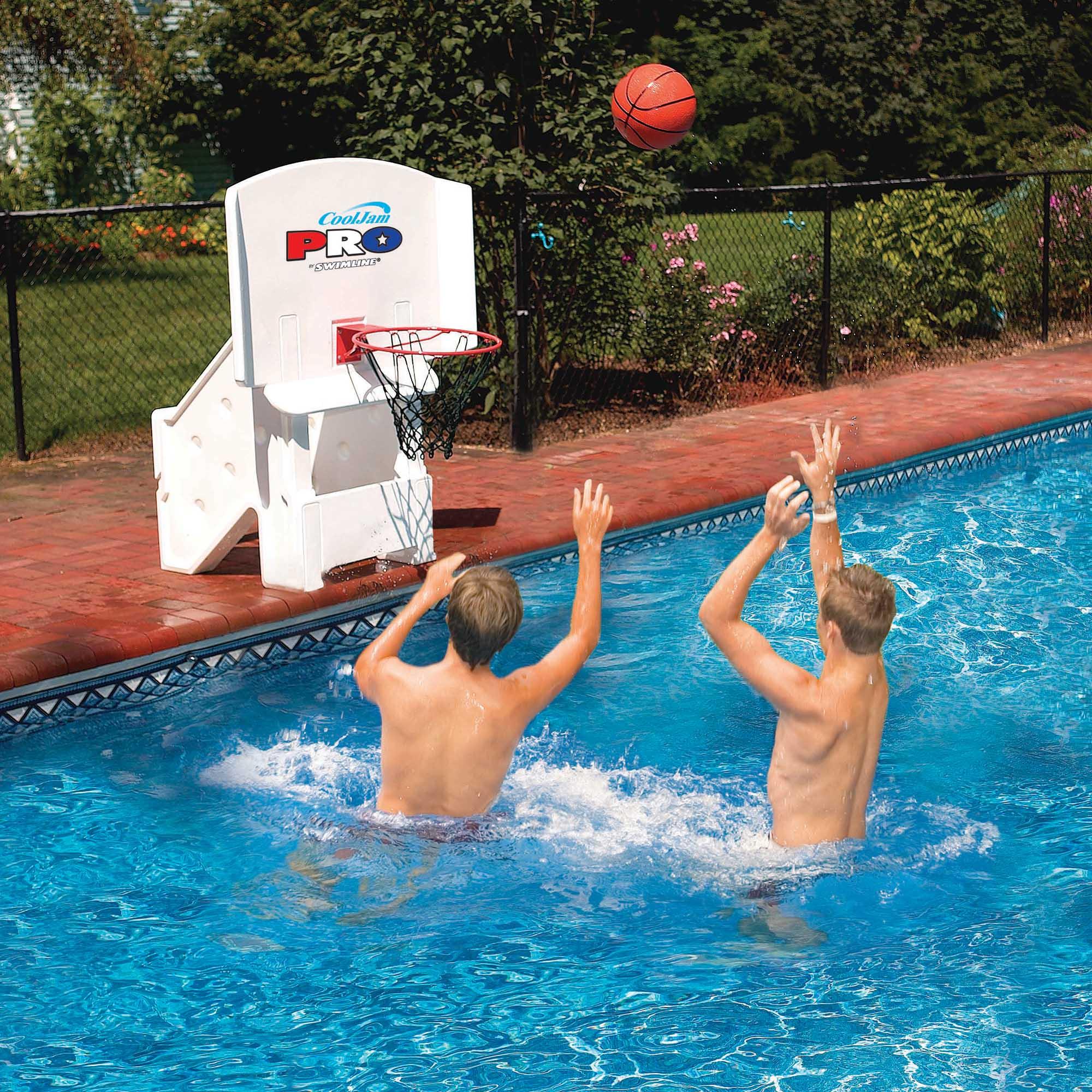 Swimline super wide cool jam pro inground swimming pool basketball hoop 9195 691060163158 ebay - Pool basketball ...