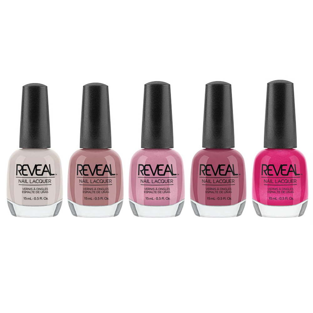 Reveal Lacquer Collection Multi Color Salon Grade Polish Set 15 Ml 20 Pack