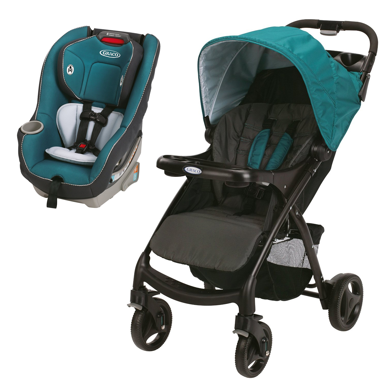 Graco Travel System w Click Connect Stroller & Contender ...