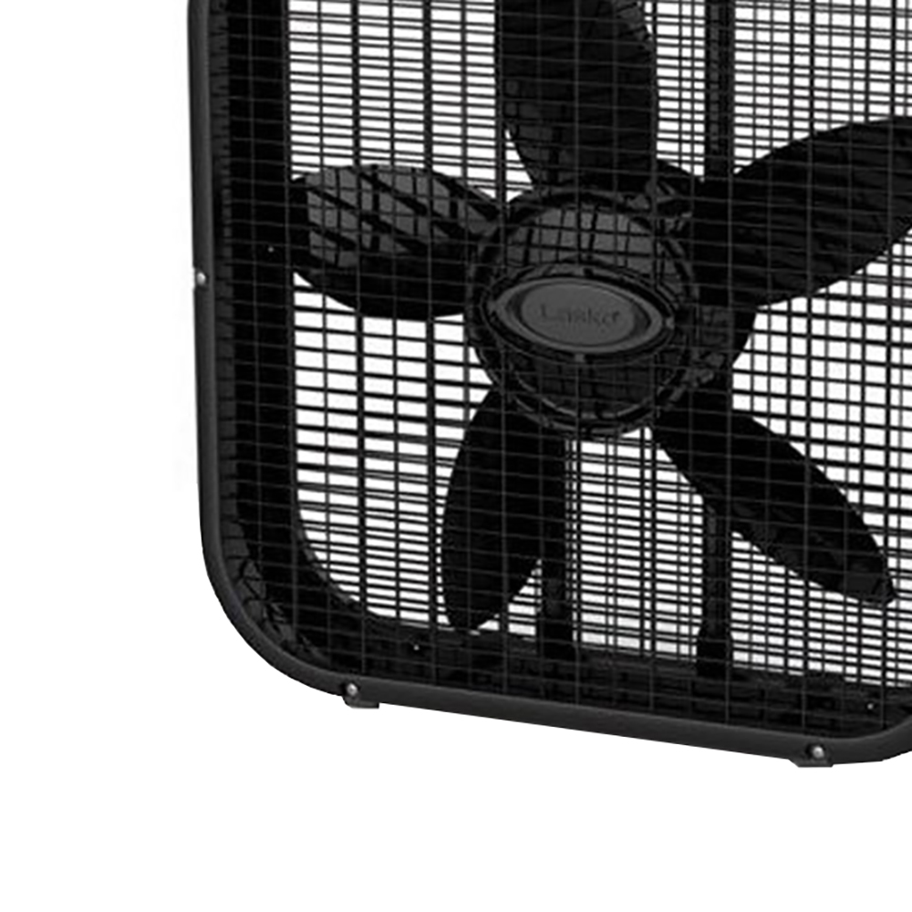 lasko 3 speed save smart 20 inch box fan with easy carry