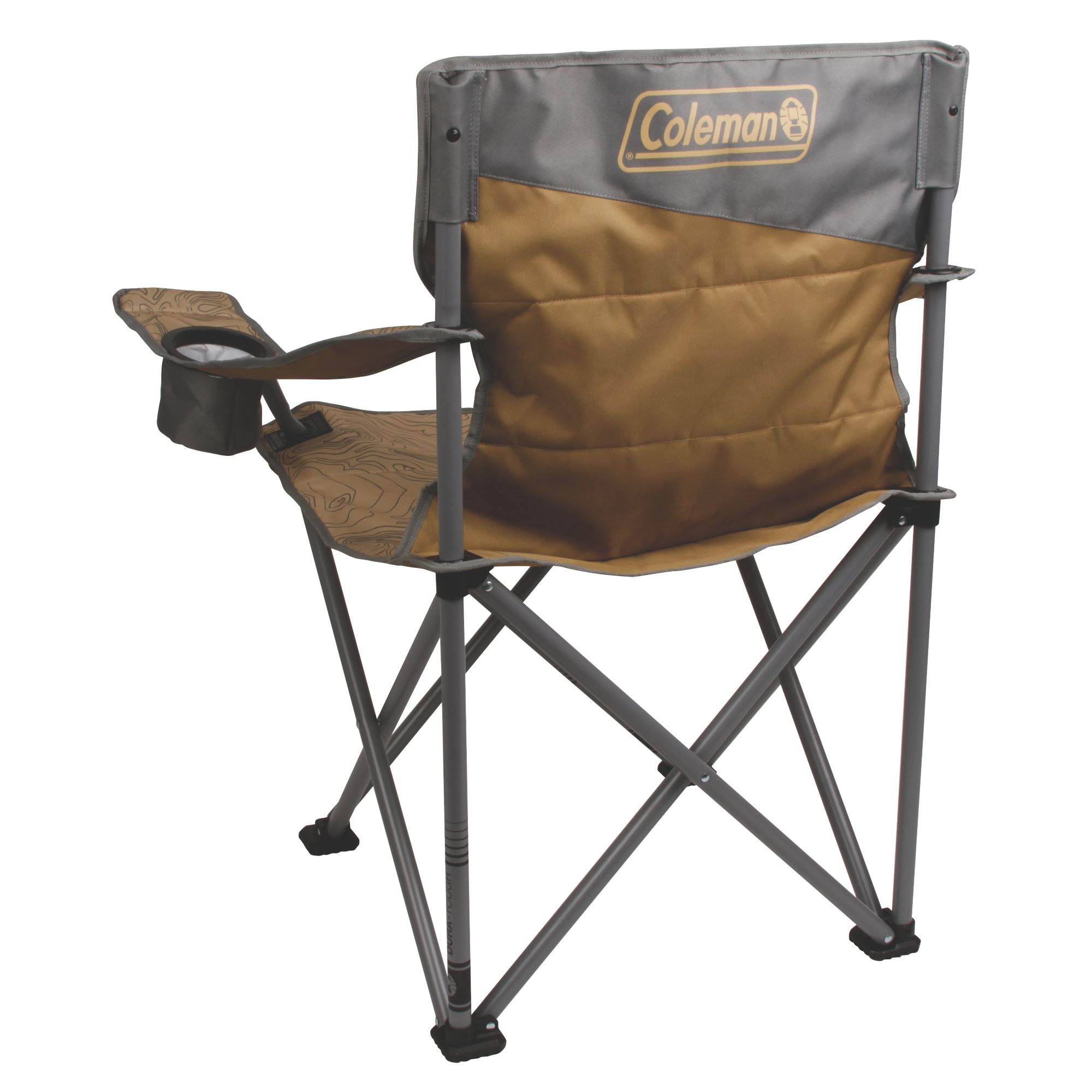 Coleman Oversized Big N Tall Quad Camping Chair With Phone