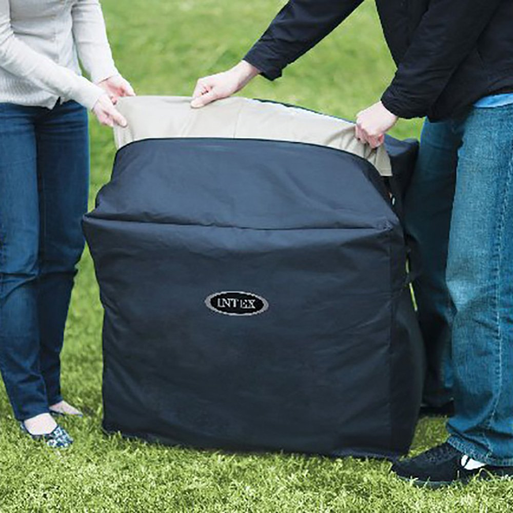 Intex PureSpa 4-Person Inflatable Bubble Jet Spa Portable Hot Tub ...