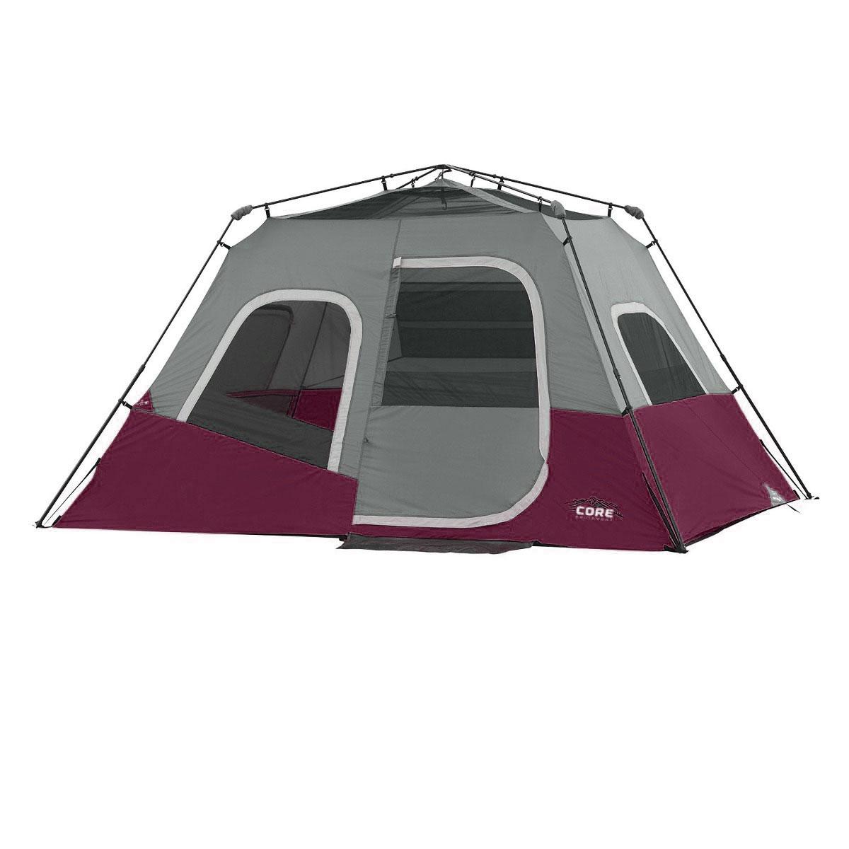 Sleeps 8 Green Core Equipment 13' x 9' Instant Cabin Tent