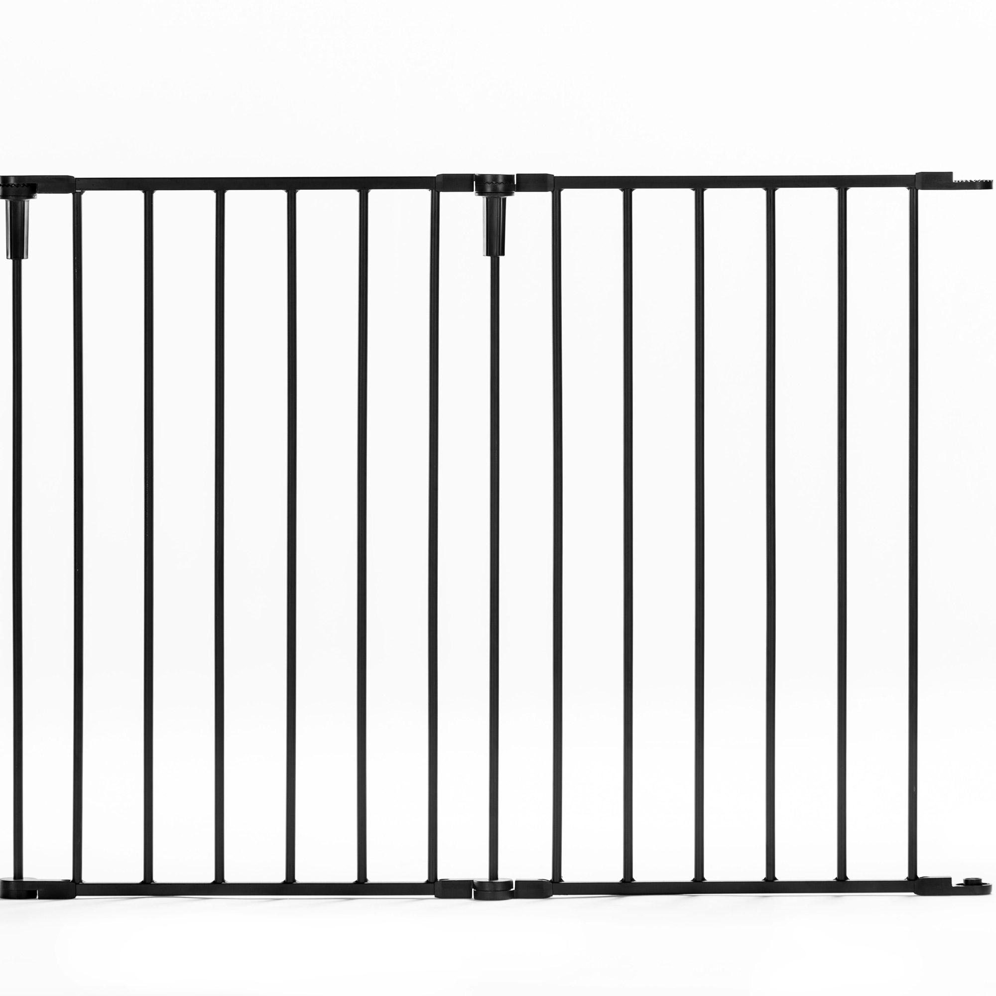 Regalo Steel Frame Easy Setup Adjustable Home Decor Super Wide Baby ...