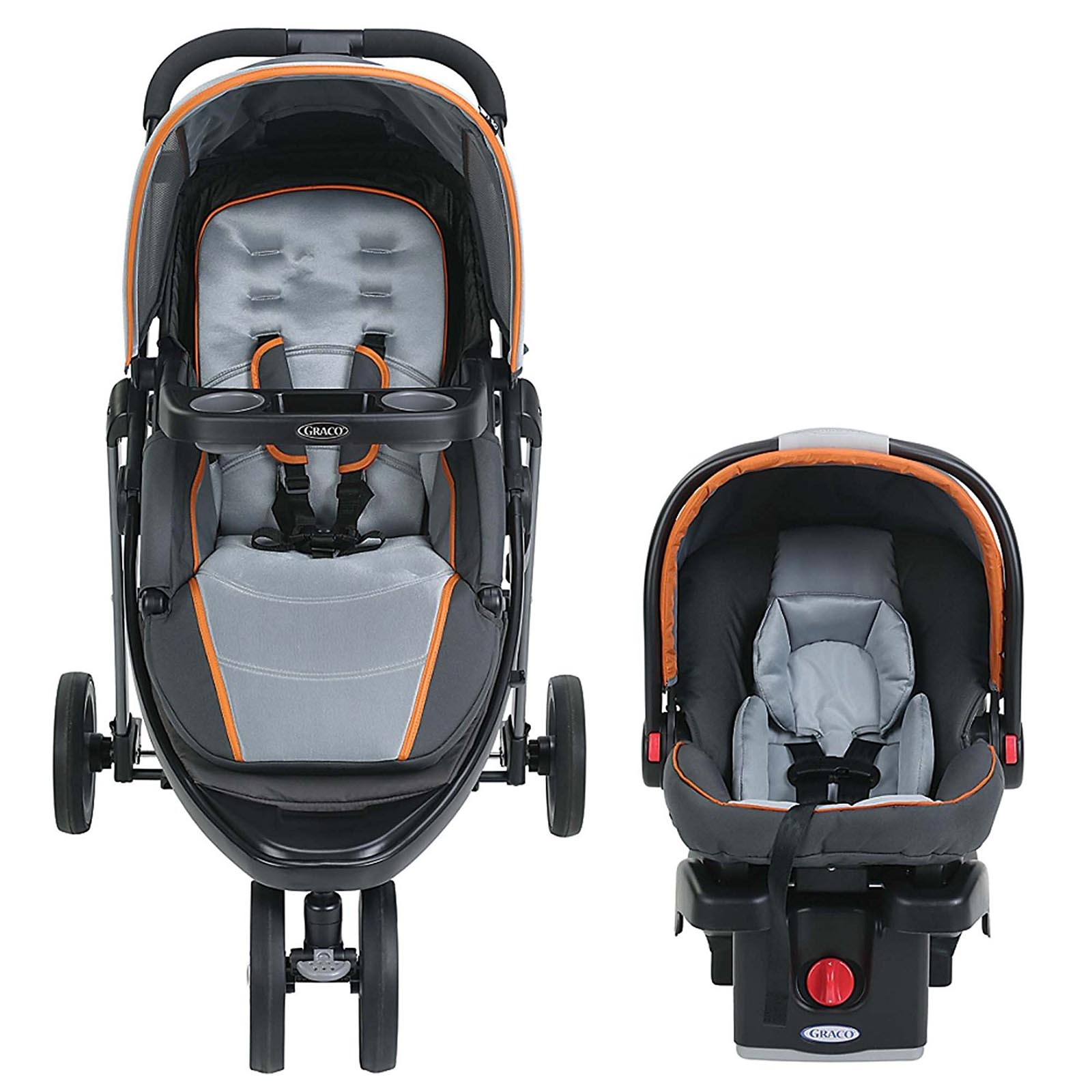 Travel Car Seat: Graco Modes Sport Click Connect Stroller And Car Seat