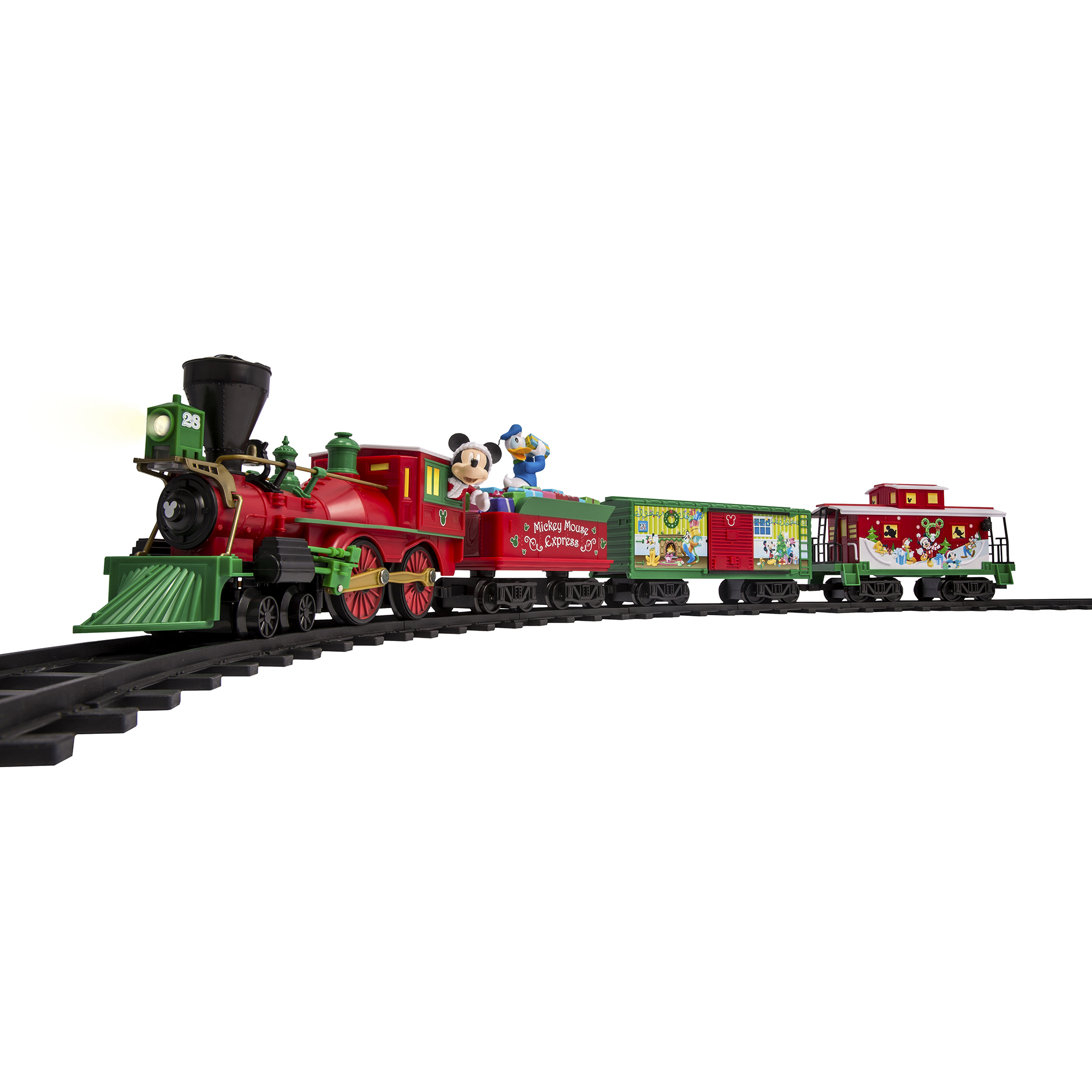 Christmas Train.Details About Lionel Trains Mickey Mouse Express Disney Ready To Play Christmas Train Set