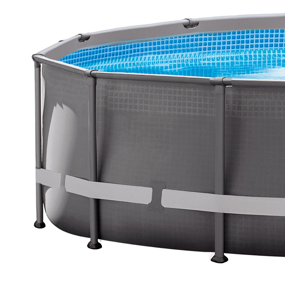 Intex 14 39 x 42 ultra frame pool set w 1000 gph filter for Frame pool obi