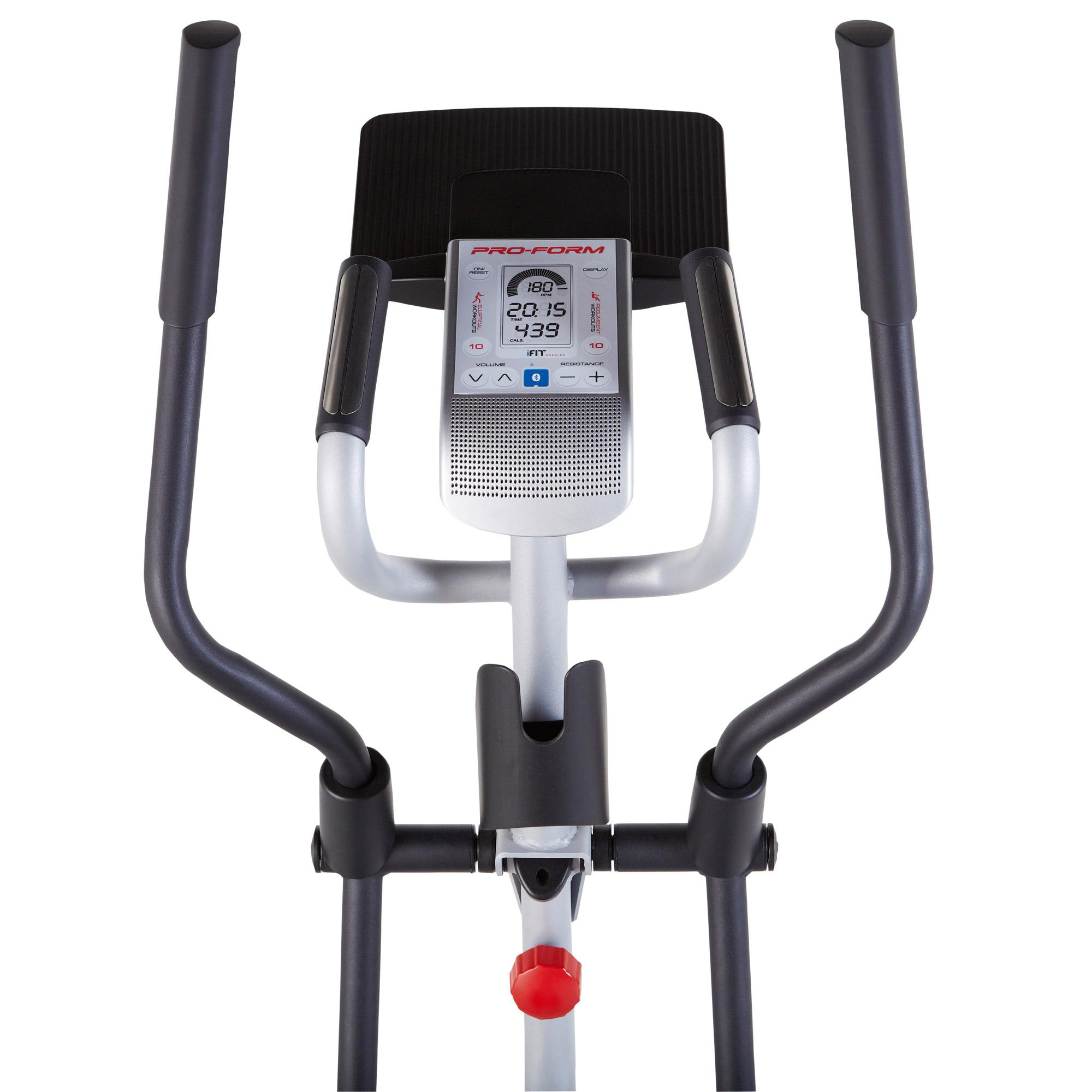 trainer elliptical crossover bike pro mat floor mats hybrid exercise resource itm proform cardio