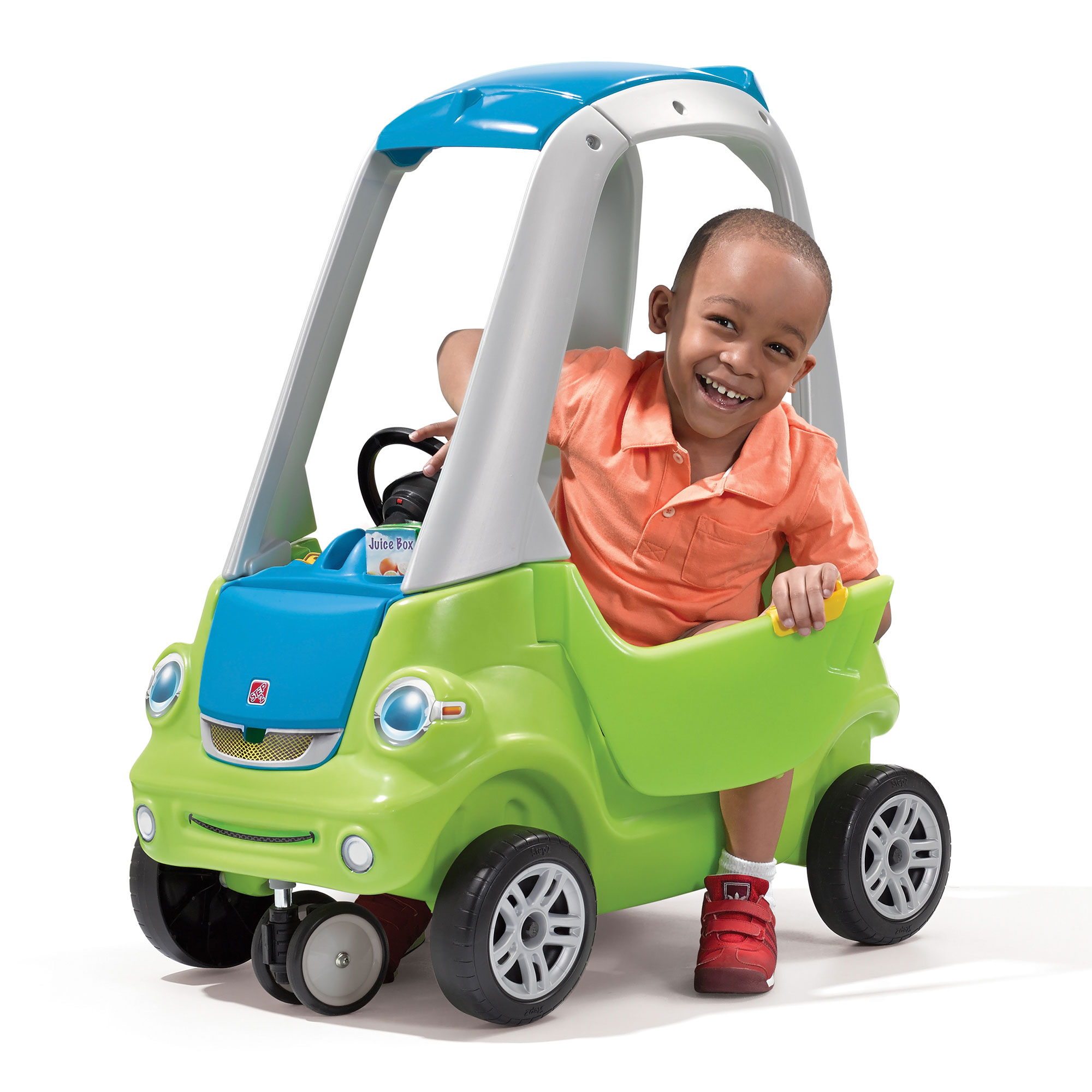 Step2 Toddler Outdoor Push Ride Toy Car for Kids Easy Turn