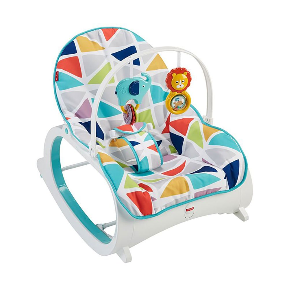 Tremendous Details About Fisher Price Portable Vibrating Newborn To Toddler Rocking Chair Geo Multicolor Short Links Chair Design For Home Short Linksinfo