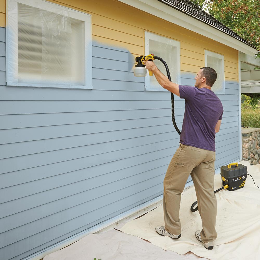 Wagner flexio 890 interior exterior hand paint sprayer - Paint sprayer for house exterior ...