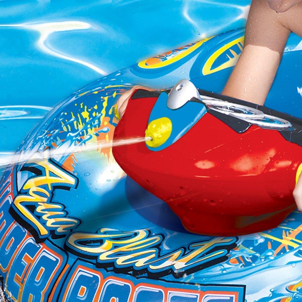 Banzai Aqua Blast Inflatable Motorized Water Blaster