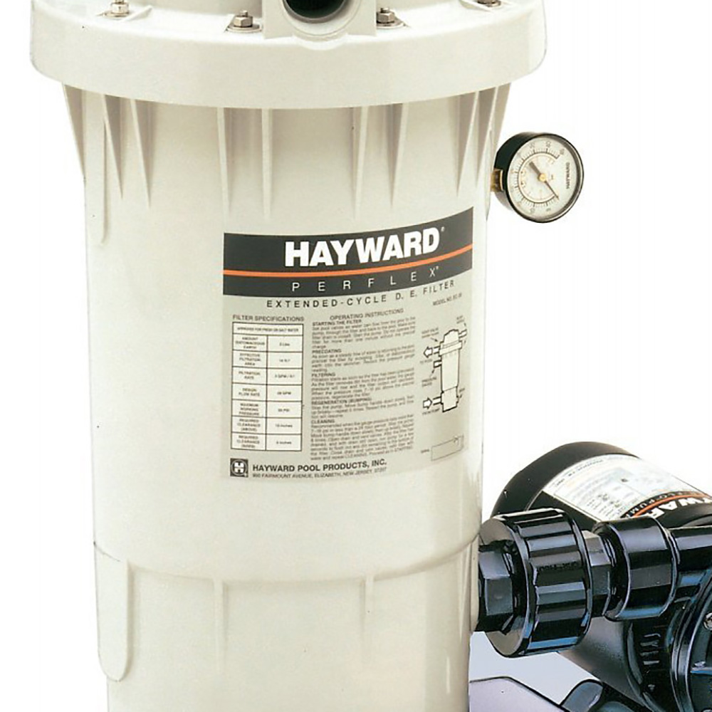 Hayward perflex extended cycle 40 gpm de filter pool pump for Obi filtersand pool