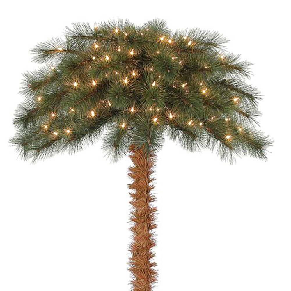 Palm Tree Island: Island Breeze 5' Pre-Lit Artificial Tropical Christmas