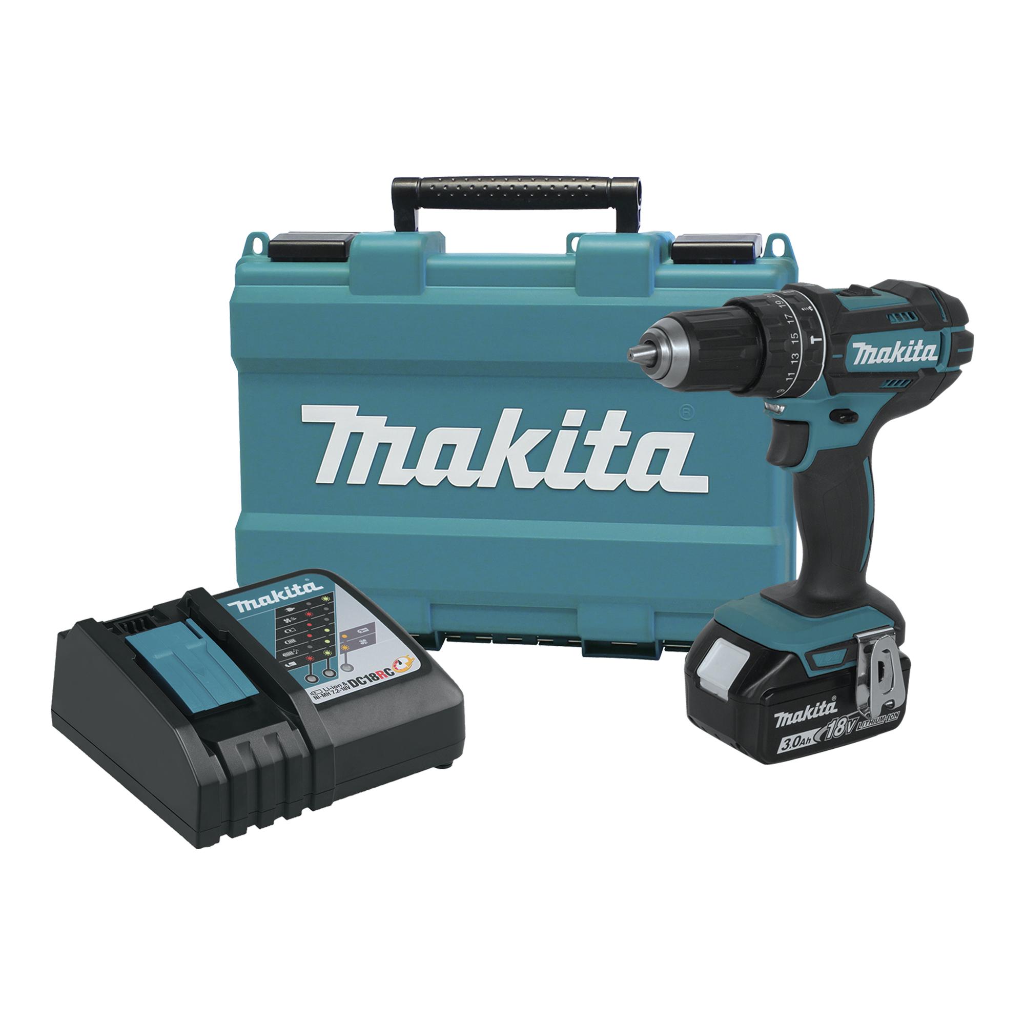 Makita 18v 3 0ah Lxt Lithium Ion Cordless 0 5 Quot Hammer Driver Drill Kit Xph102 Ebay