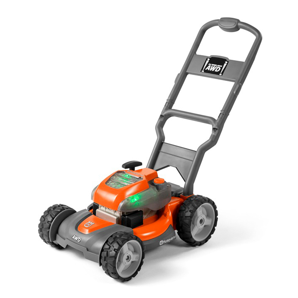 Husqvarna Battery Powered Kids Toy Lawn Mower For Ages 3 Orange 589289601 Ebay