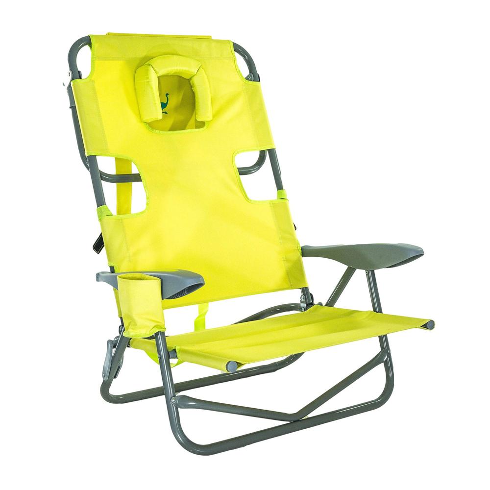 Strange Details About Ostrich On Your Back Outdoor Lounge 5 Position Reclining Beach Chair Lime Green Inzonedesignstudio Interior Chair Design Inzonedesignstudiocom