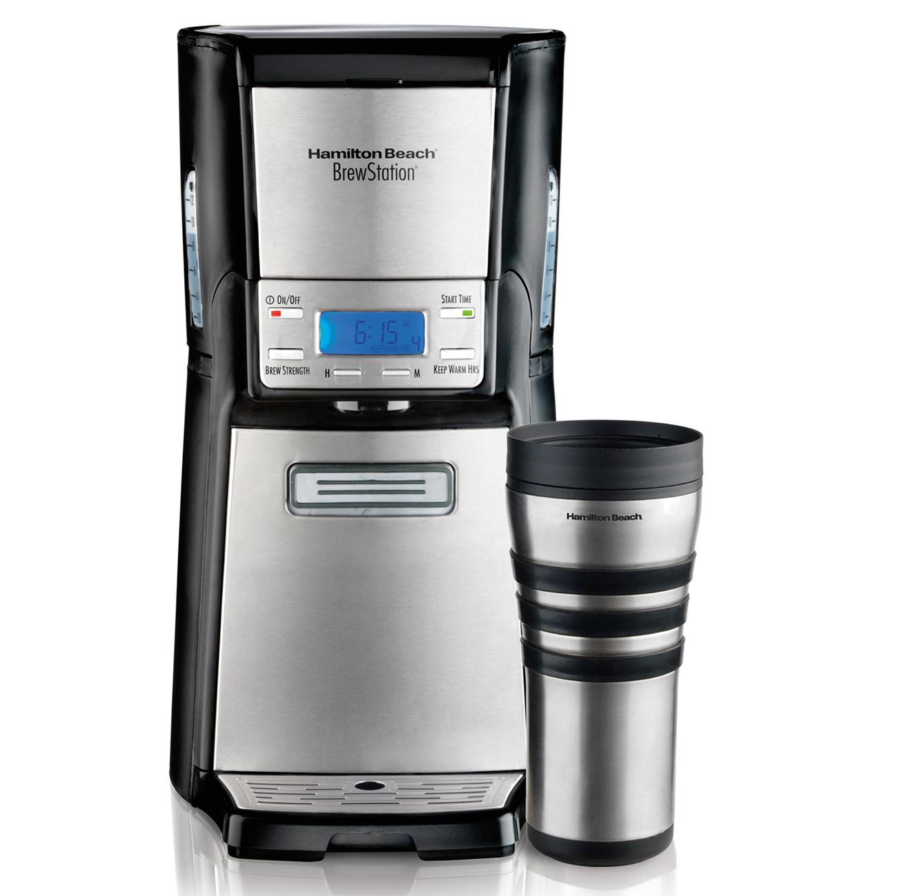 Coffee Maker Without Auto Shut Off : Hamilton Beach 48465 Brewstation Summit Ultra 12-Cup Programmable Coffeemaker