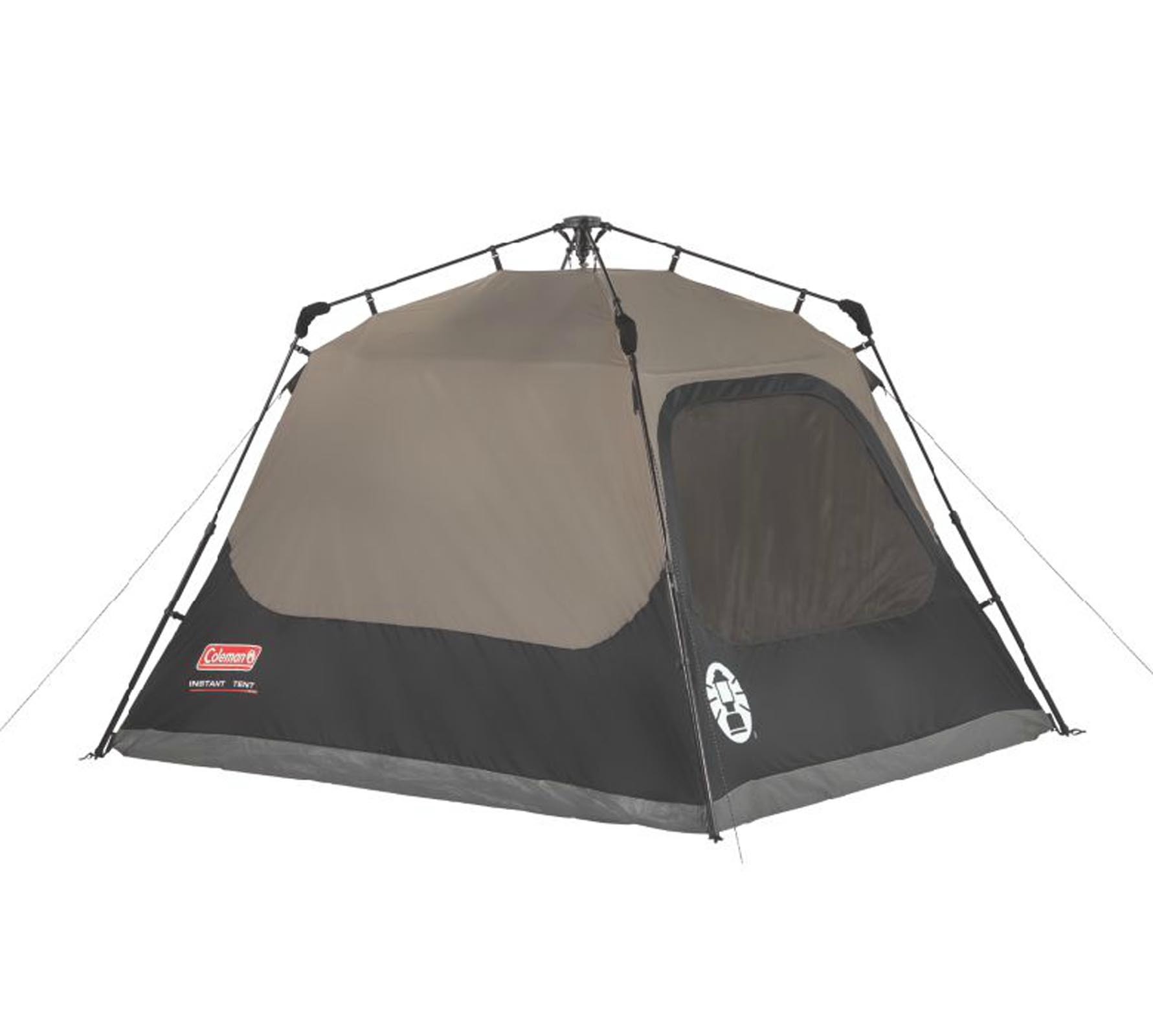 Coleman Outdoor Family Camping 4 Person Instant Tent 8 X 7