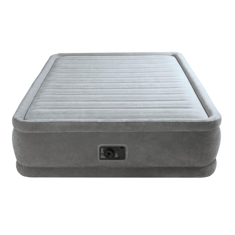 Intex Queen Comfort Plush Elevated Mattress Air Bed W