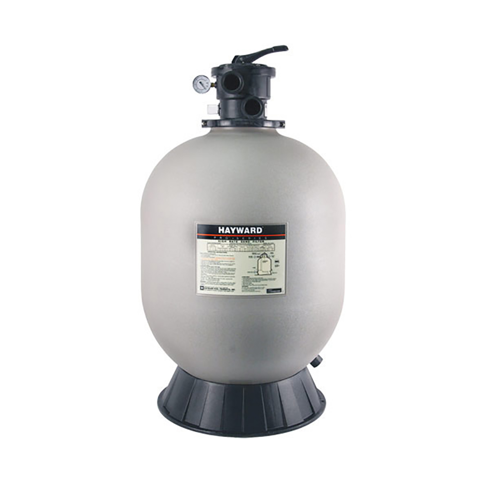 Swimming Pool Filters : Hayward inch pro series top mount sand filter for