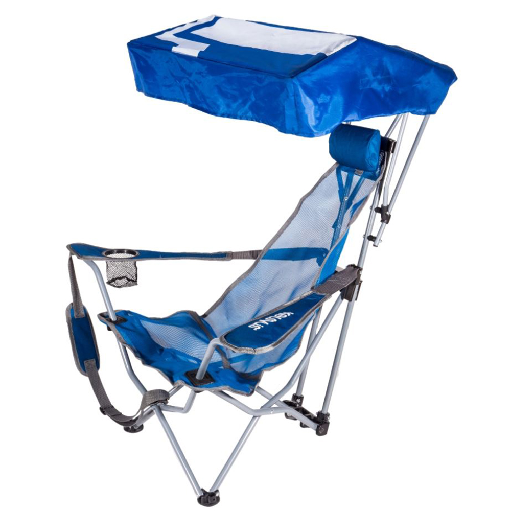 Kelsyus Backpack Beach Portable Camping Folding Lawn Chair