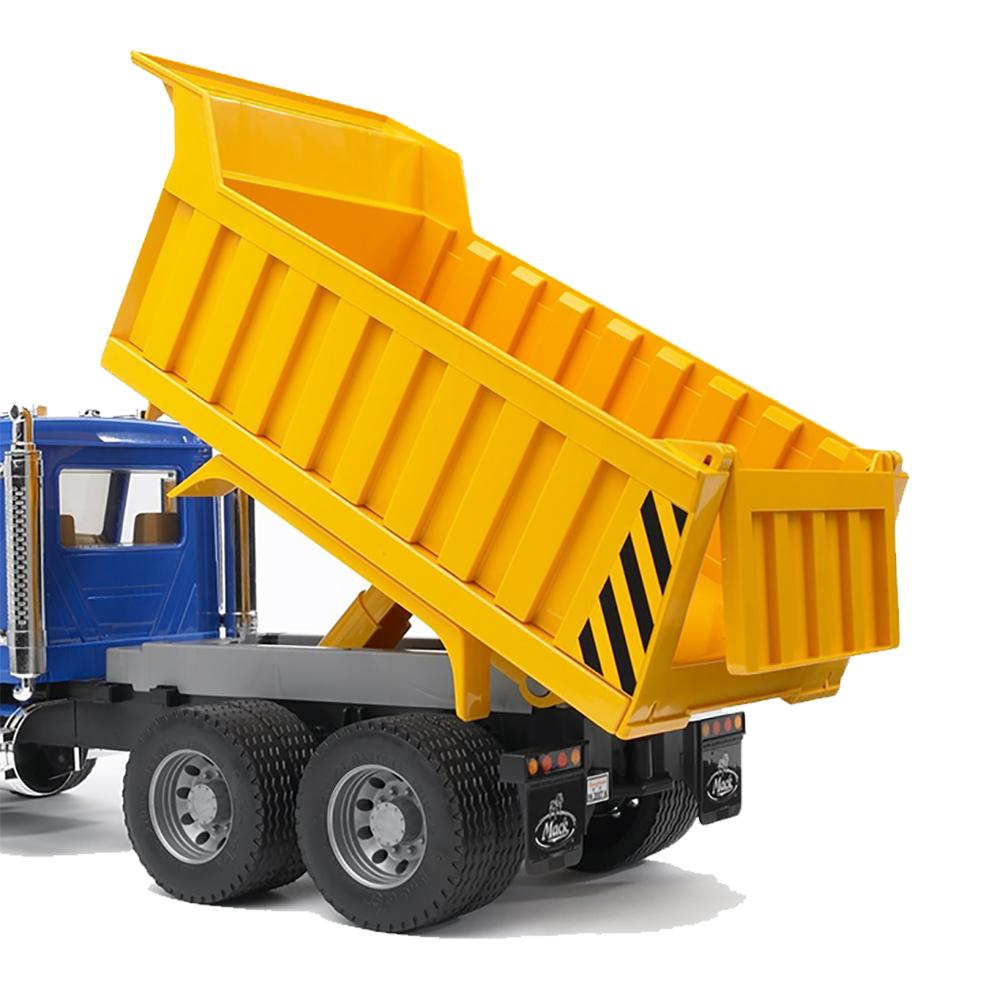 Toy Dump Trucks For Boys : Bruder toys mack granite dump truck w functioning bed in
