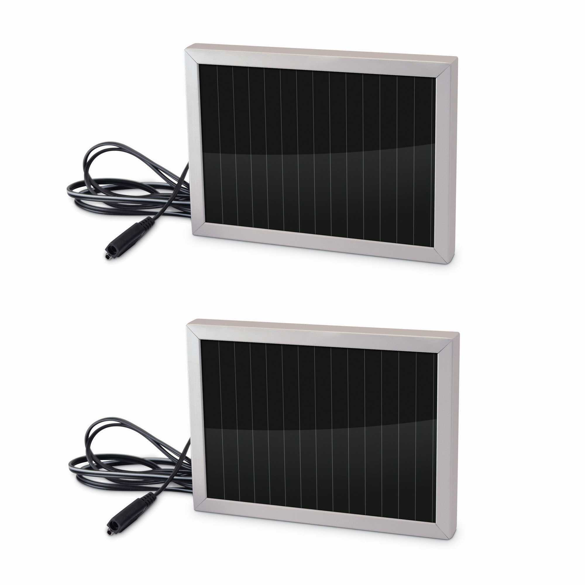 Stealth Cam 12 Volt Battery Charger Solar Panel Game