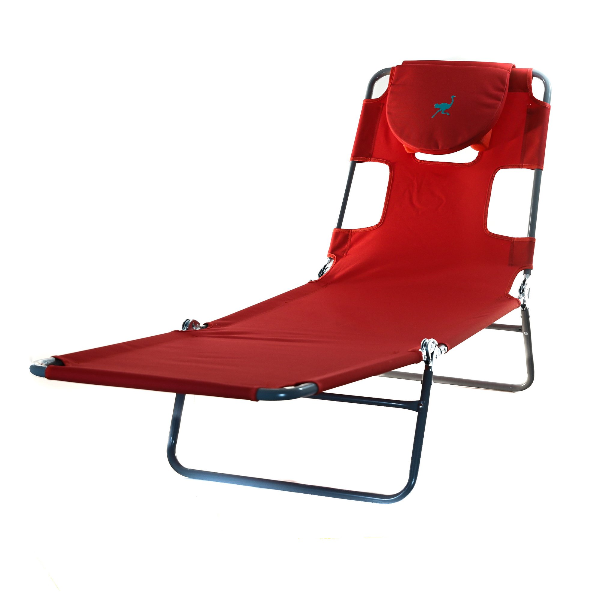 Ostrich Spring Lake Lounger Face Down Sunbathing Chaise