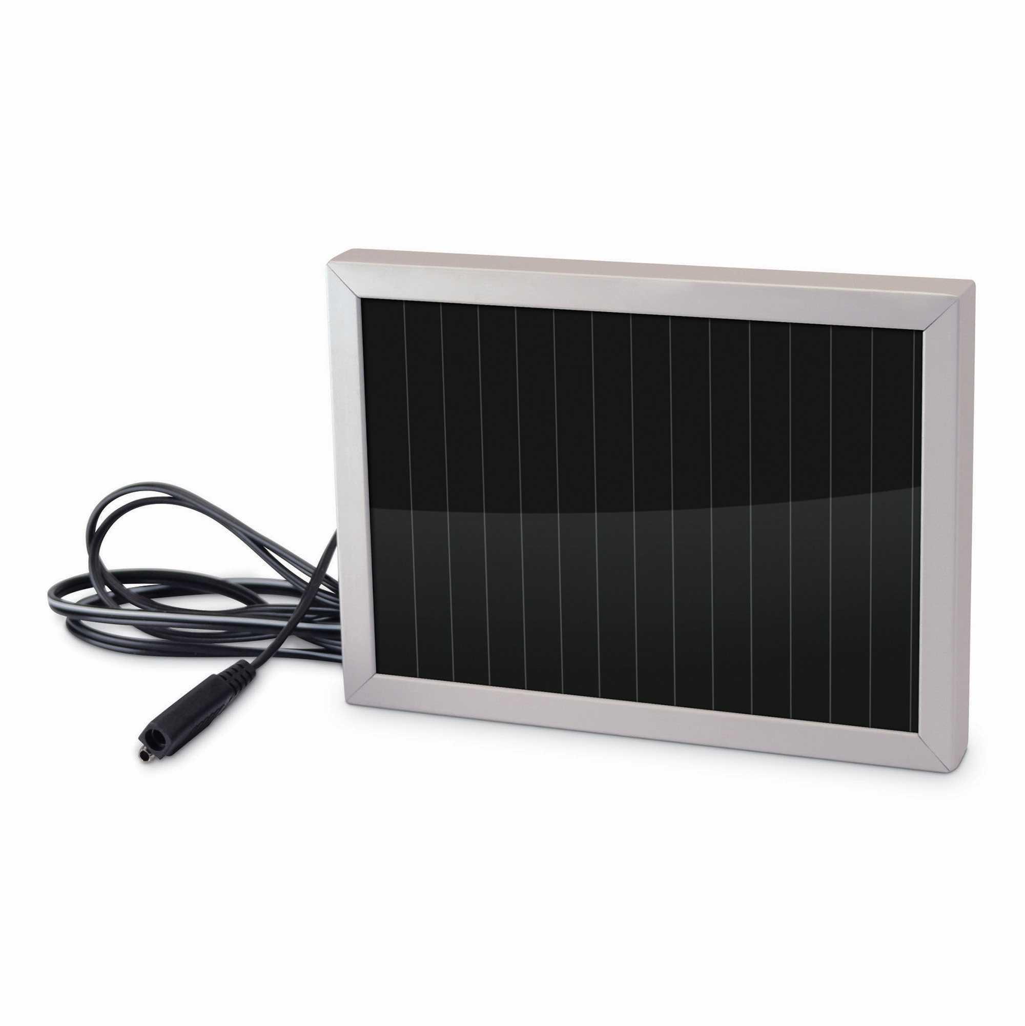 stealth cam 12 volt battery charger solar panel game. Black Bedroom Furniture Sets. Home Design Ideas