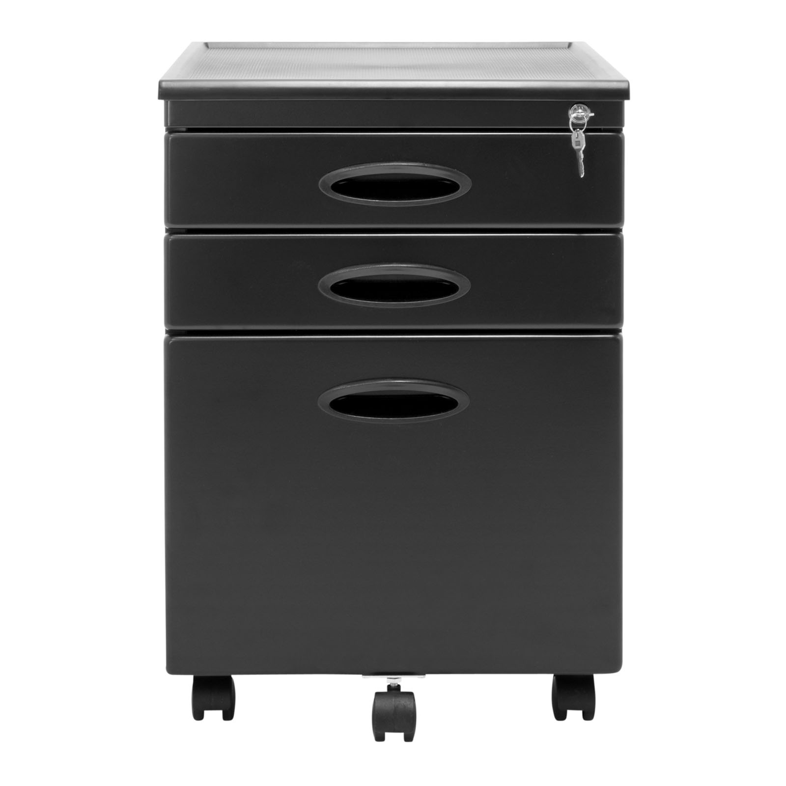 black file cabinet calico designs home office furniture storage 3 drawer 12362