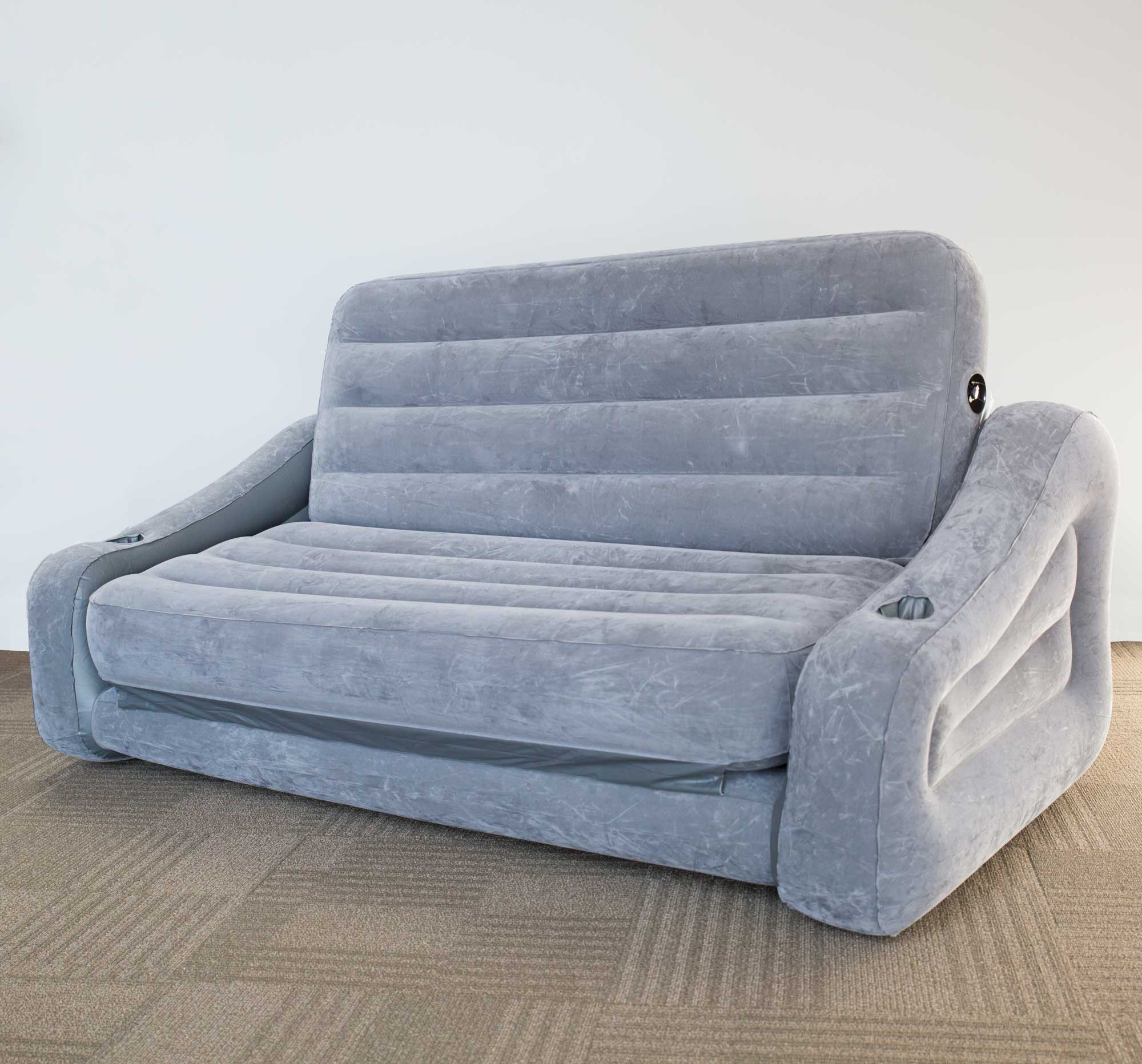 Intex Inflatable 2 In 1 Pull Out Sofa And Queen Air