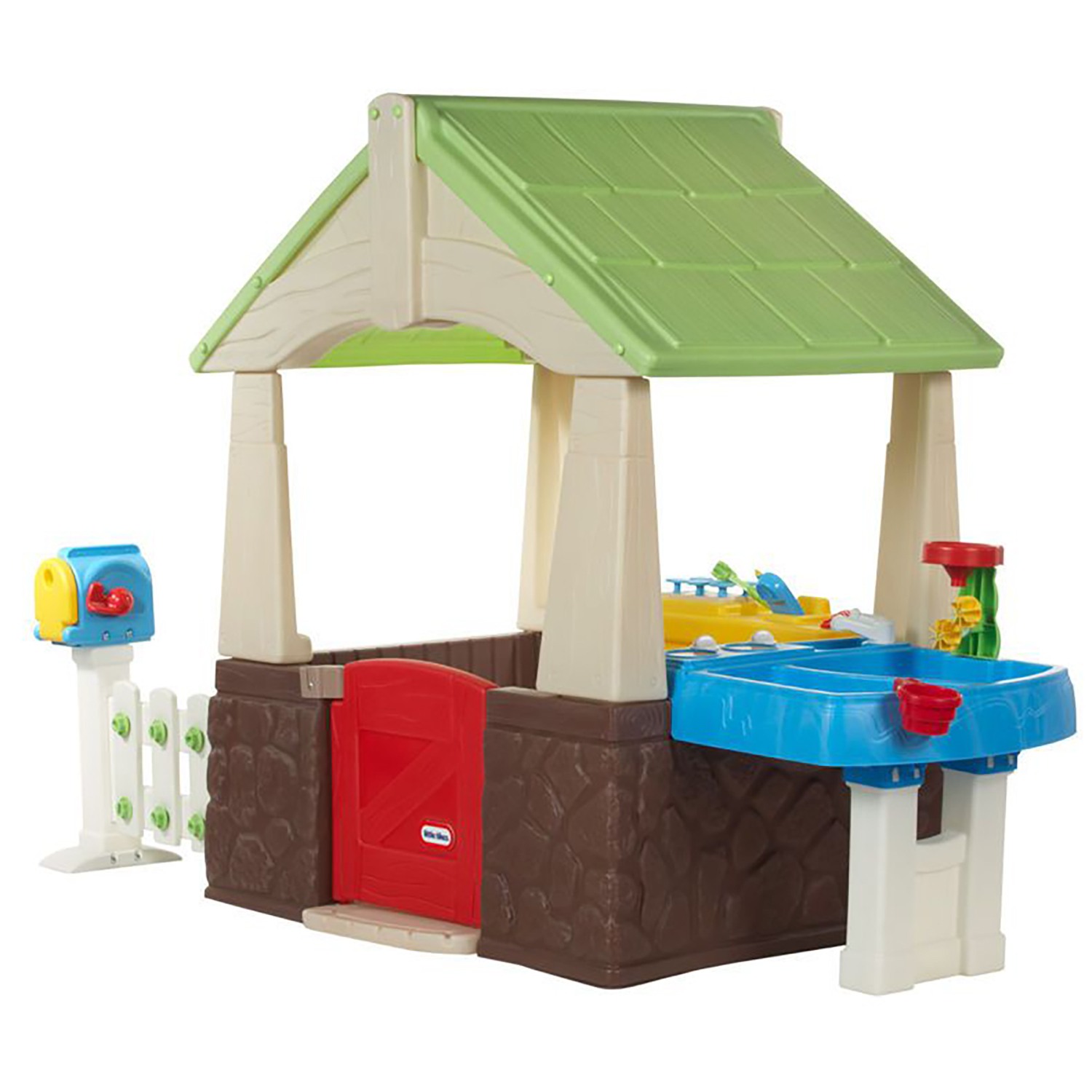 Little Tikes Deluxe Home and Garden Portable Outdoor Backyard ...
