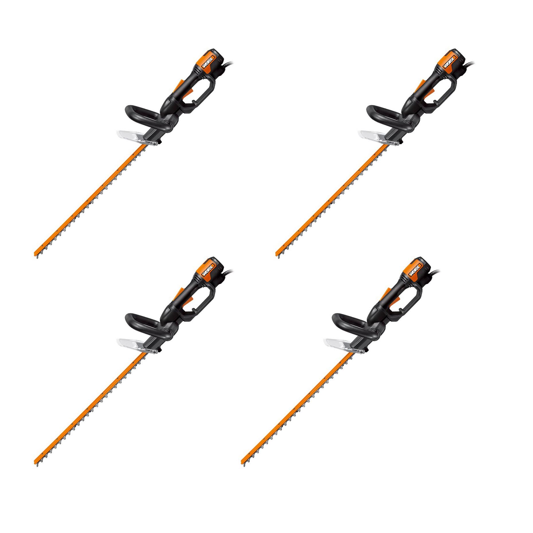 Worx WG209 24 Inch 4 Amp Lightweight Corded Electric Hedge