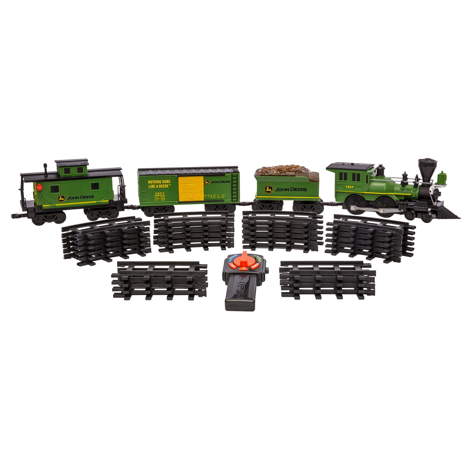 lionel trains john deere tractor ready to play kids toy electric model train set