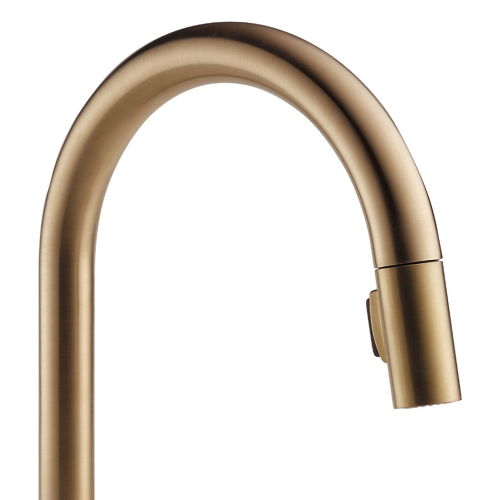 Delta Single Pull-Out Handle Kitchen Sink Faucet Tap, Bronze | 9159 ...