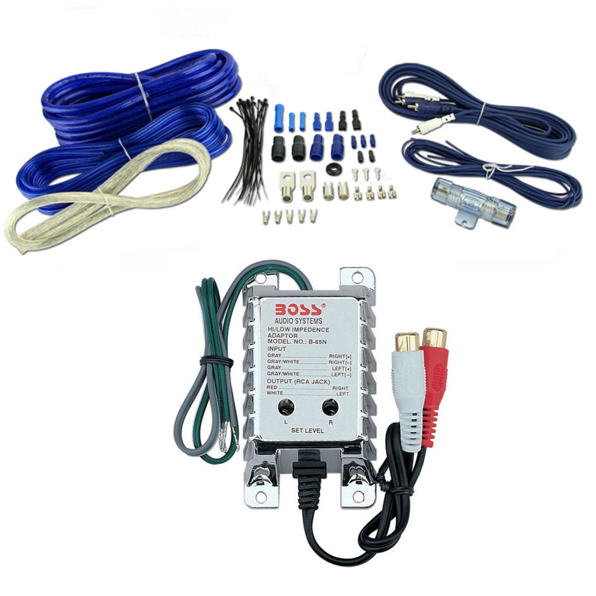 Vm Audio 4 Gauge Amplifier Wiring Kit W 3 Farad Power Capacitor Amp Pyramid 8ga Car Installation Wire